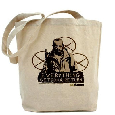 Morgan: Everything Gets A Return Tote Bag