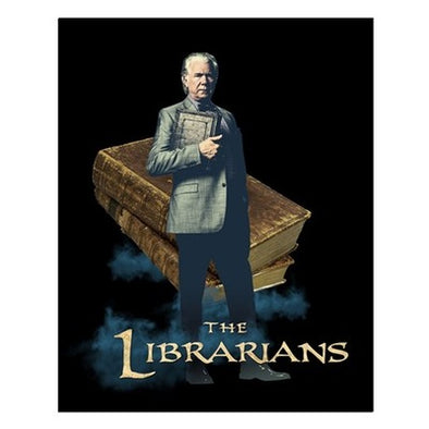 The Librarians Jenkins Small Poster