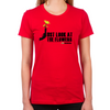 Just Look At The Flowers Women's Fitted T-Shirts