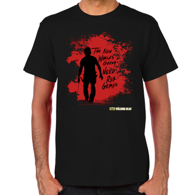 Rick Grimes World Men's T-Shirt