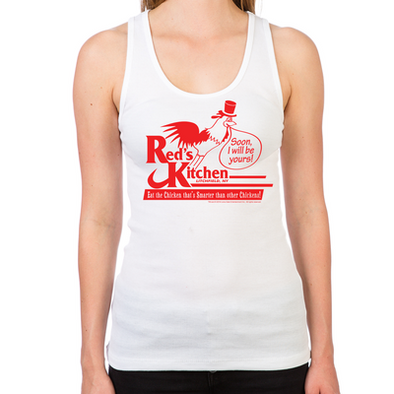 Red's Kitchen Women's Racerback Tank