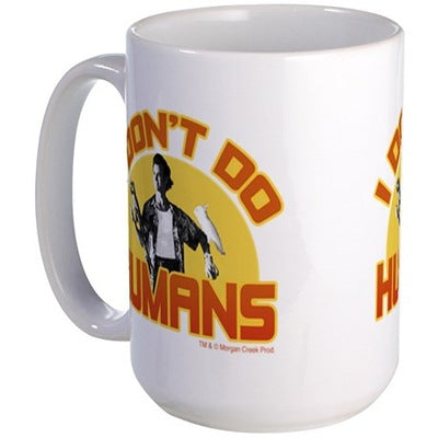 Ace Ventura I Don't Do Humas Large Mug