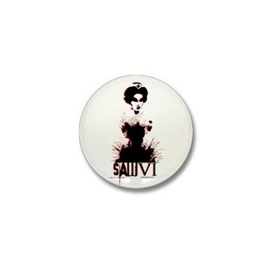 Saw Nurse Mini Button