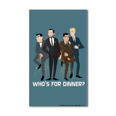 Mad Men Philanderers Sticker
