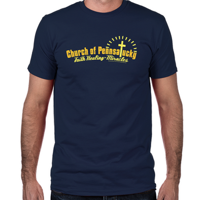 Church of Pennsatucky Fitted T-Shirt
