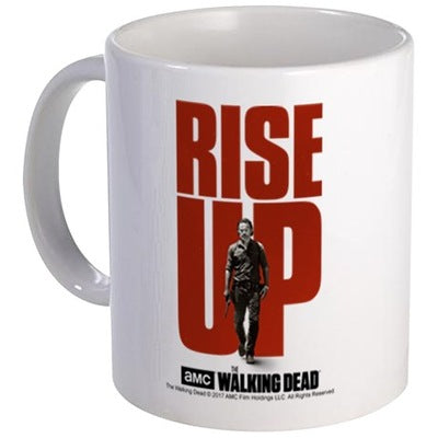 Rise Up Walking Dead Mug