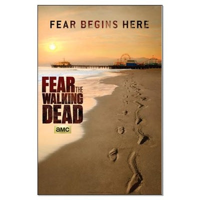 Fear The Walking Dead Comic Con Large Poster