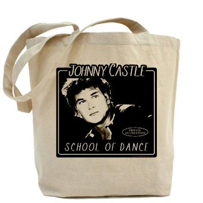 Dirty Dancing Johnny Castle School of Dance Tote Bag
