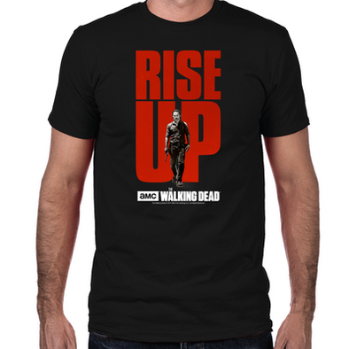 TWD Rise Up Rick Fitted T-Shirt