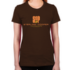 SCP Mad Men Logo Women's Fitted T-Shirt
