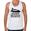 Wolf of Wall Street EARN SPEND PARTY Men's Tank