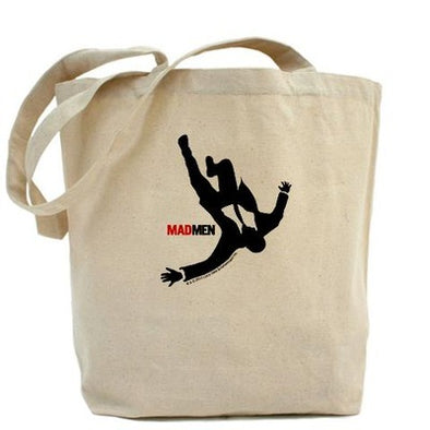 Falling Mad Men Tote Bag