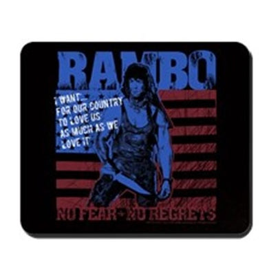 Rambo No Fear Mousepad