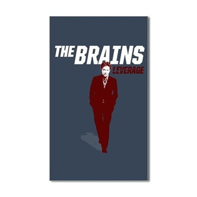 The Brains Sticker