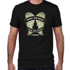 Daryl Dixon Wings Fitted T-Shirt