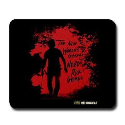 Rick Grimes World Mousepad