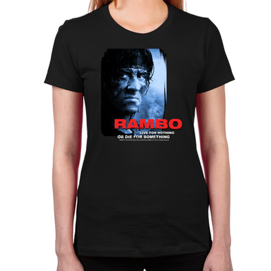 Rambo Die for Something Women's T-Shirt