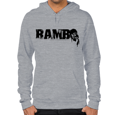 R is for Rambo Hoodie