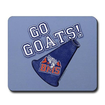 Blue Mountain State Go Goats Mousepad