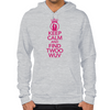 Keep Calm and Find Twoo Wuv Hoodie