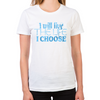 Lost Girl Live the Life I Choose Women's Fitted T-Shirt
