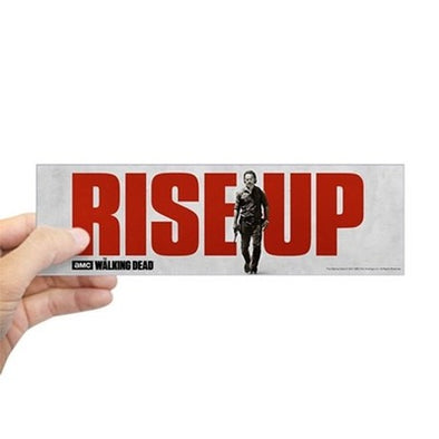 Rise Up S7 Walking Dead (bumper) Bumper Sticker