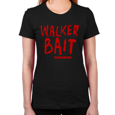 Walker Bait Women's Fitted T-Shirt