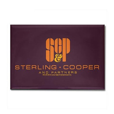 SCP Mad Men Logo Magnet