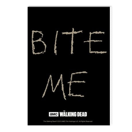 Bite Me Postcards (package Of 8)