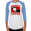 Dirty Dancing Johnny Castle Men's Baseball T-Shirt