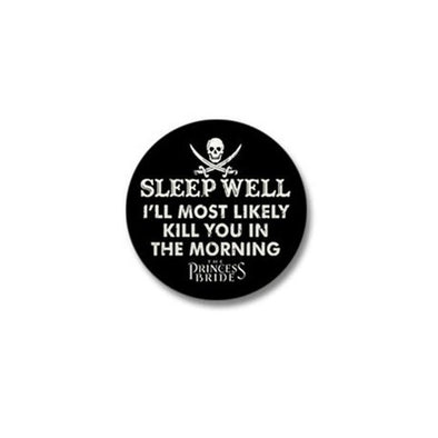 Sleep Well Mini Button