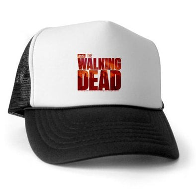 The Walking Dead Blood Logo Trucker Hat