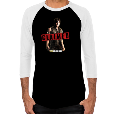 Daryl Dixon Claimed Men's Baseball T-Shirt