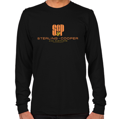 SCP Mad Men Logo Long Sleeve