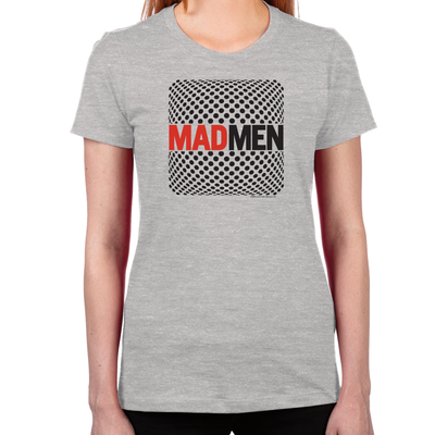 Mad Men Pop Art Women's Fitted T-Shirt
