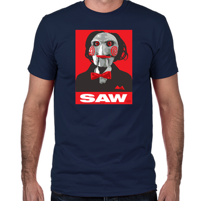 Saw Clown Fitted T-Shirt