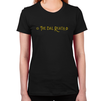 The Dal Riata Women's Fitted T-Shirt