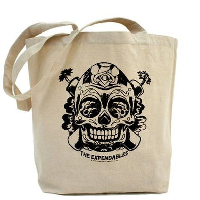 The Expendables Skull TNT Sticker