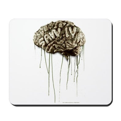 Saw Brain Mousepad