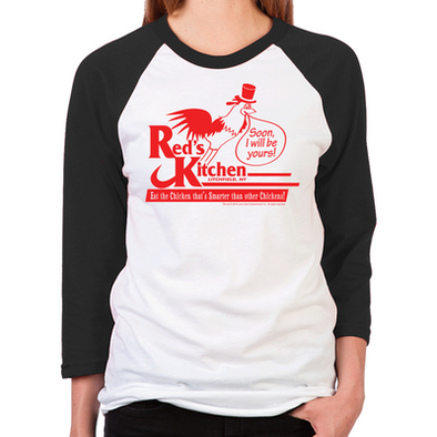Red's Kitchen Women's Baseball T-Shirt