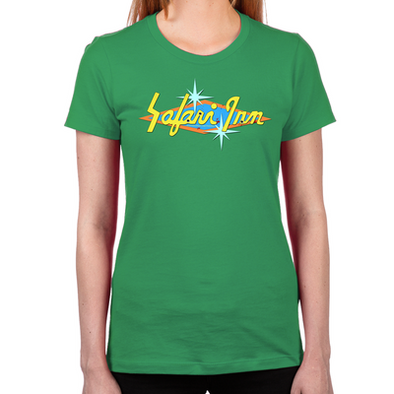 Safari Inn Women's Fitted T-Shirt