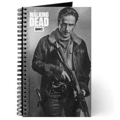 Rick Grimes Silver Portrait Journal