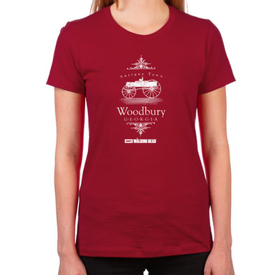 Woodbury Georgia Women's Fitted T-Shirt