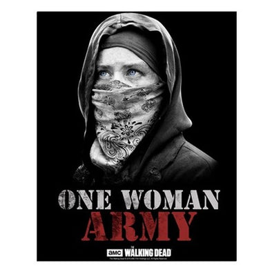 One Woman Army Small Poster