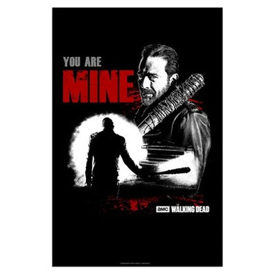 Negan You Are Mine Large Poster