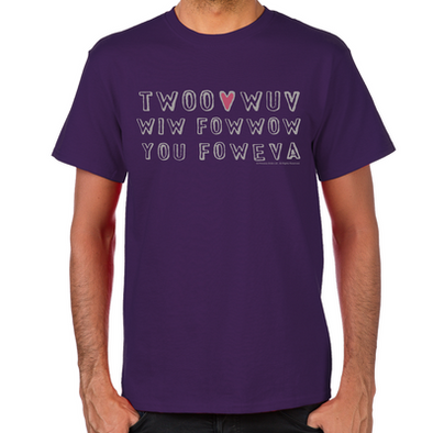 Twoo Wuv Men's T-Shirt