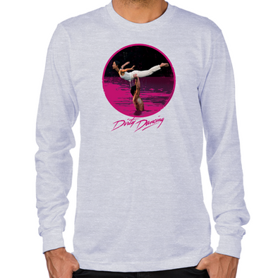 Dirty Dancing Swim Scene Long Sleeve T-Shirt