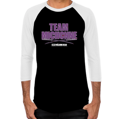 Team Michonne Men's Baseball T-Shirt