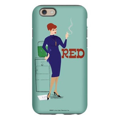 Mad Men Red iPhone 6 Tough Case