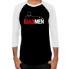 Mad Men Truth Lies Men's Baseball T-Shirt